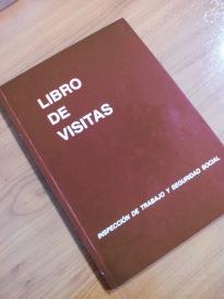 Imagen de un libro de visitas